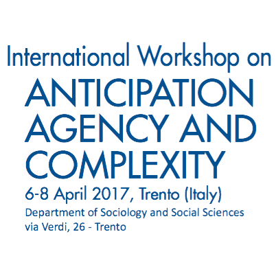 I SEE at the International Workshop on Anticipation, Agency and Complexity
